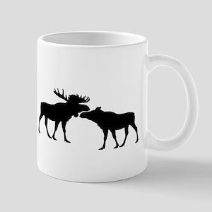 Moose couple Mugs