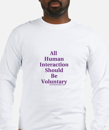 Human Interaction Long Sleeve T-Shirt