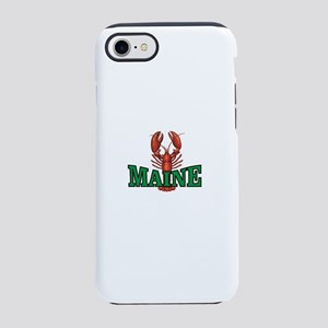 green maine lobster iPhone 8/7 Tough Case