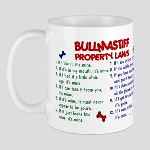 Bullmastiff Property Laws 2 Mug