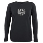 8 Legged Plus Size Long Sleeve Tee