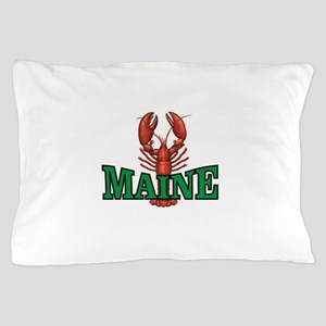 green maine lobster Pillow Case