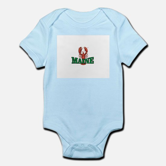 green maine lobster Body Suit