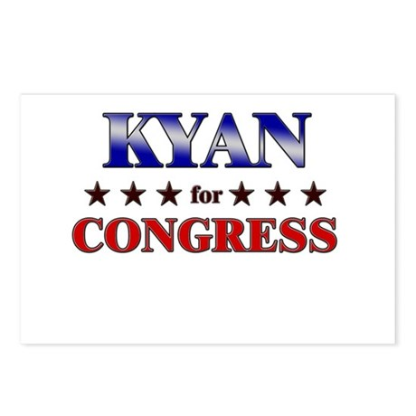 KYAN for congress Postcards (Package of 8)