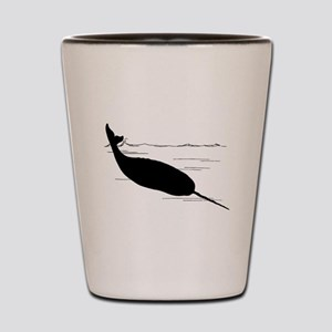 Narwhal Shot Glass