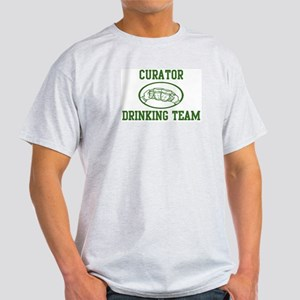 Curator Drinking Team Light T-Shirt