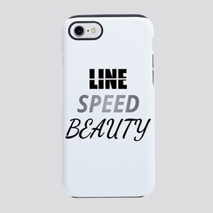 Line Speed Beauty iPhone 8/7 Tough Case