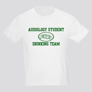 Audiology Student Drinking Te Kids Light T-Shirt