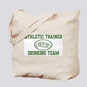 Athletic Trainer Drinking Tea Tote Bag