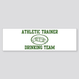Athletic Trainer Drinking Tea Bumper Sticker
