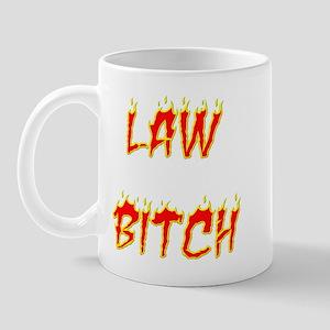 Law Bitch Mug