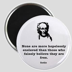 Goethe Slavery Magnet