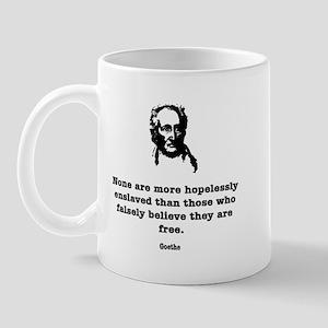 Goethe Slavery Mug