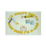 Happy Q-Less Rectangle Magnet (100 pack)