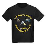 Happy Q-Less Kids Dark T-Shirt