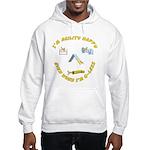 Happy Q-Less Hooded Sweatshirt