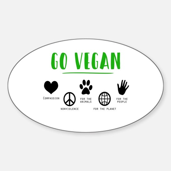 Vegan Food Healthy Decal