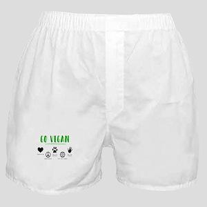 Vegan Food Healthy Boxer Shorts