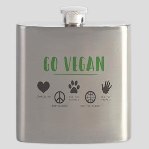 Vegan Food Healthy Flask