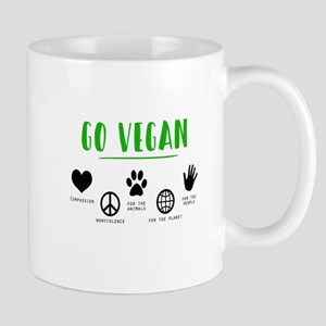 Vegan Food Healthy Mugs