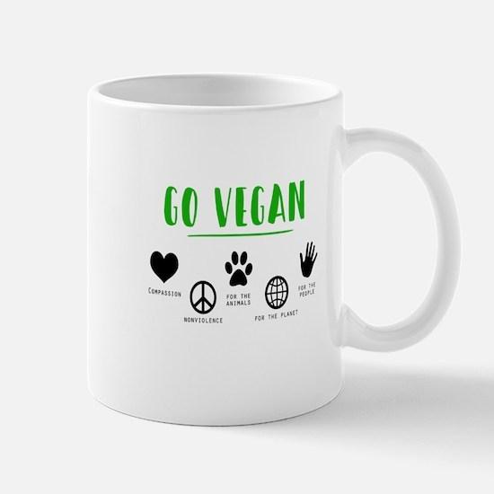 Vegan Food Healthy Mugs
