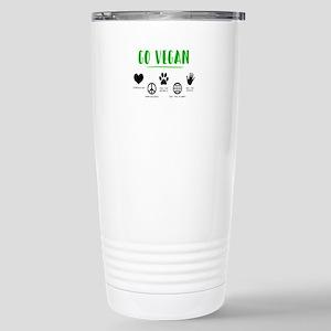 Vegan Food Healthy Stainless Steel Travel Mug