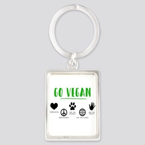 Vegan Food Healthy Keychains