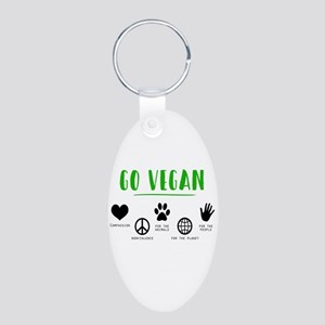 Vegan Food Healthy Keychains