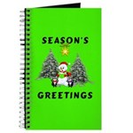 Christmas Greetings Journal