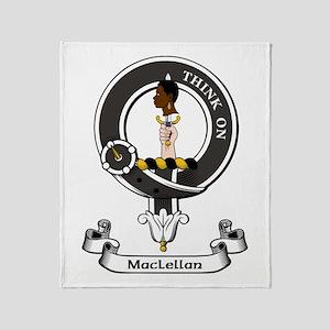 Badge - MacLellan Throw Blanket
