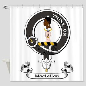 Badge - MacLellan Shower Curtain