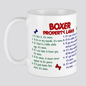 Boxer Property Laws 2 Mug