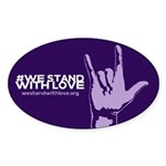 We Stand With Love Sticker (10 Pack)