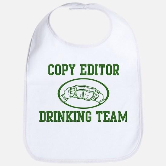 Copy Editor Drinking Team Bib
