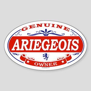 ARIEGEOIS Oval Sticker