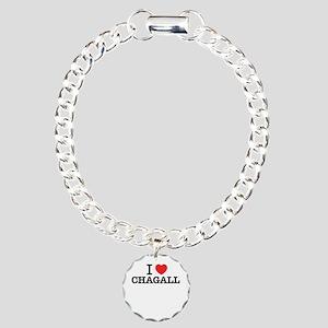 I Love CHAGALL Charm Bracelet, One Charm