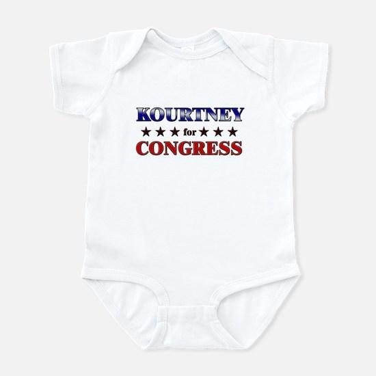 KOURTNEY for congress Infant Bodysuit