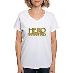 Hero in Waiting Women's V-Neck T-Shirt