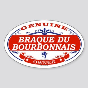 BRAQUE DU BOURBONNAIS Oval Sticker