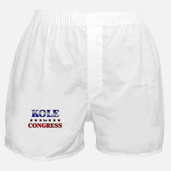 KOLE for congress Boxer Shorts