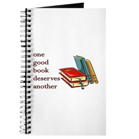 One Good Book Deserves Another Journal