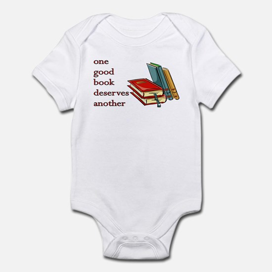 One Good Book Deserves Another Infant Bodysuit