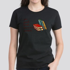 One Good Book Deserves Another Women's Dark T-Shir