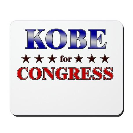 KOBE for congress Mousepad