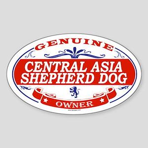 CENTRAL ASIA SHEPHERD DOG Oval Sticker
