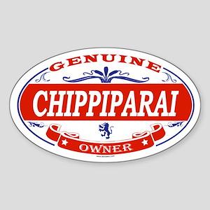 CHIPPIPARAI Oval Sticker