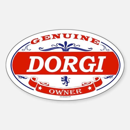 DORGI Oval Decal