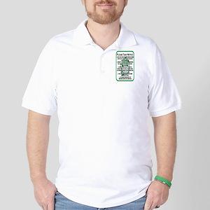 Dont Talk Golf Shirt