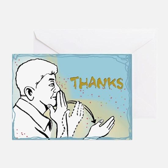 Thanks Greeting Card