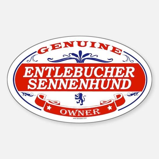 ENTLEBUCHER SENNENHUND Oval Decal
